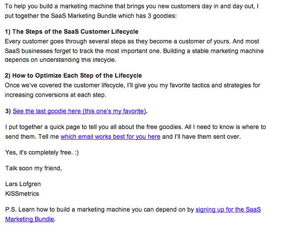P.S. Узнайте, как создать маркетинговую структуру, на которую можно всегда рассчитывать. Подпишитесь на SaaS Marketing Bundle.