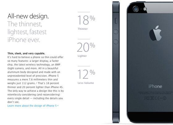 Новый дизайн. Самый тонкий, быстрый и яркий iPhone из всех.