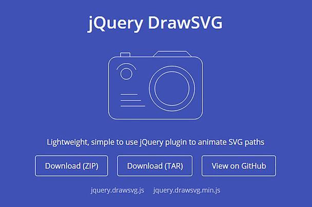 jQuery DrawSVG