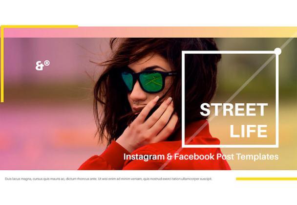 Street Life Social Media Templates