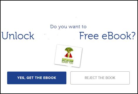 Хотите получить бесплатную электронную книгу? Супер-еда — супер-вы Да, получить книгу / Отказаться от книги