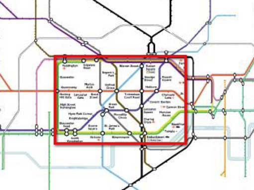 Бифокальное отображение карты