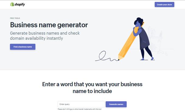 генератор названий бизнеса