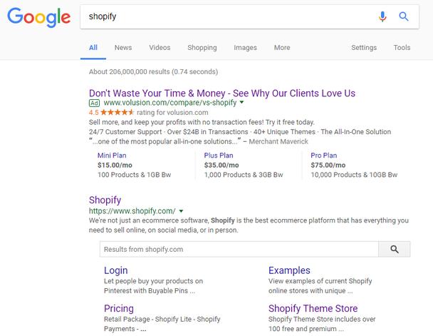 «Shopify»