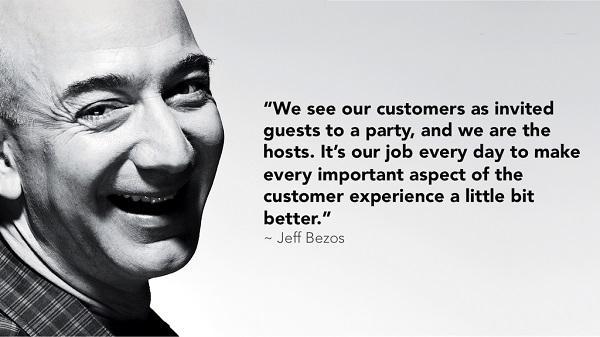 «Мы воспринимаем клиентов как гостей, приглашенных на нашу вечеринку. Наша задача заключается в том, чтобы изо дня в день делать каждый значимый аспект клиентского опыта чуточку лучше».