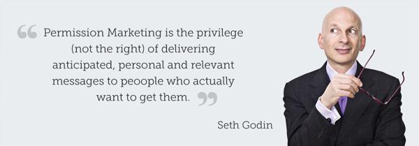 «Разрешенный маркетинг — это привилегия (не право) на отправку ожидаемых, персонализированных и релевантных сообщений людям, который действительно хотят их получить».