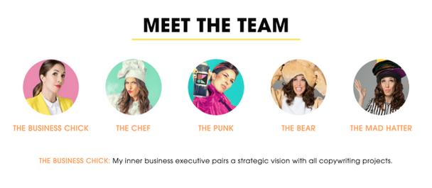 Познакомьтесь с командой героев, являющихся частью эффективного кириного брендинга: Бизнес-Чика, Шеф-Повар, Панк, Медведь, Сумасшедший Шляпник