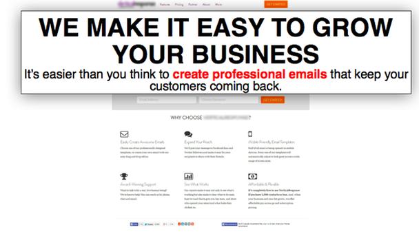 Мы облегчаем рост вашего бизнеса. Создавать профессиональные электронные письма, возвращающие клиентов на ваш сайт, легче, чем вы думали