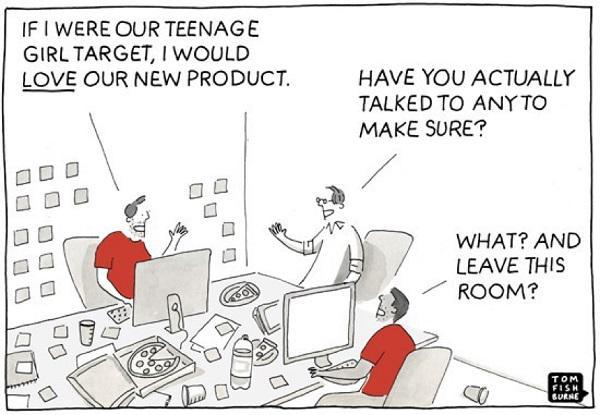 Покидайте рабочий кабинет, чтобы собрать реальную информацию о клиентах