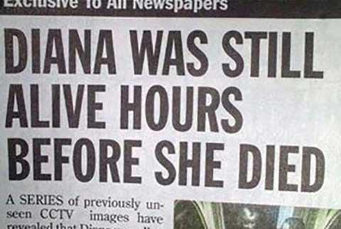 Диана была жива еще несколько часов после своей смерти