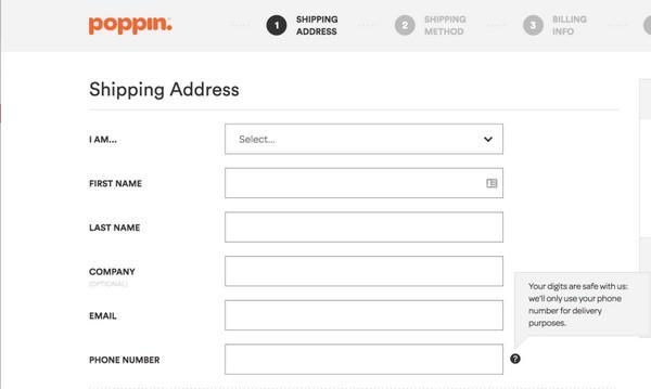 Интернет-магазин Poppin