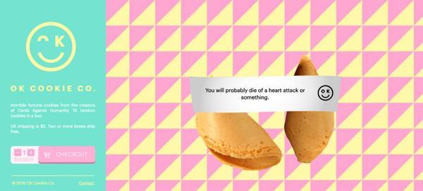 После того, как вы добавили в корзину одну упаковку печенья, текст на кнопке меняется. Нажав на нее еще раз, вы начинаете процесс оформления заказа