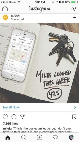 Надпись в блокноте: «Миль зарегистрировано на этой неделе: 47,5»
