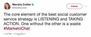 Основными элементами хорошего клиентского сервиса являются - слушать пользователей и предотвращать проблемы. Одно без другого существовать не может
