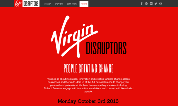 Virgin Disruptors