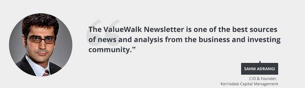 Рассылка Valuewalk — это один из лучших источников новостей и аналитических статей в деловом и инвестиционном сообществе.