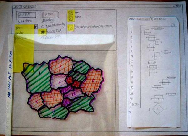 Рисунок 5 A-B: иллюстрации раскадровок, выполненных в рамках проекта ADVISES и используемых в сеансах валидации с участием пользователей.