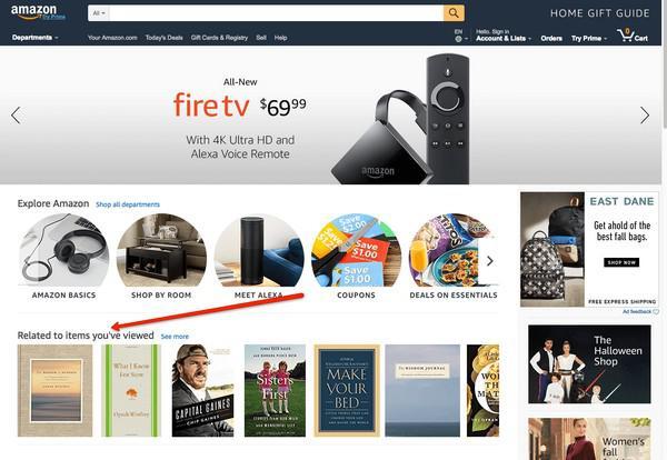 35% всех продаж интернет-гиганта Amazon случается благодаря блоку с рекомендованными товарами