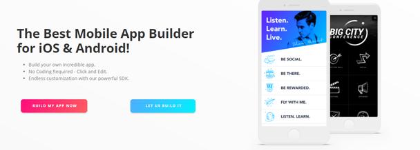 Лучший конструктор мобильных приложений для iOS и Android!