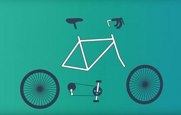 Велосипед? Или руль, педали, спицы, шины, тормоза, сиденье и раму?