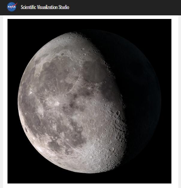 Луна во всей (или не во всей?) ее красе