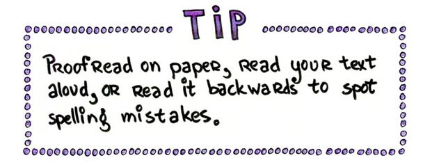Совет. Вычитывая текст, произносите его вслух или читайте предложения в обратном порядке — это позволит заметить грамматические ошибки