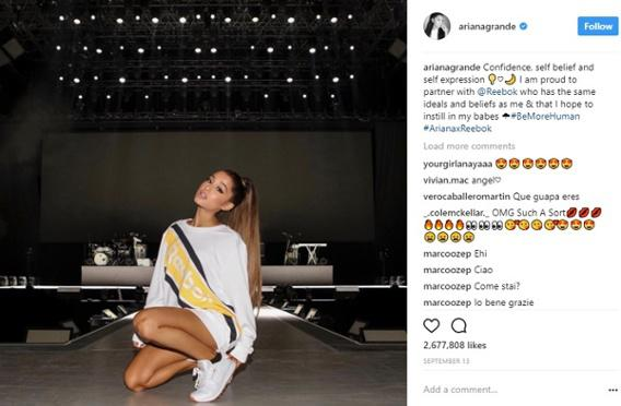 Лидеры мнений в Instagram
