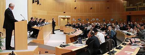 типичное заседание по обсуждению стандартов ISO