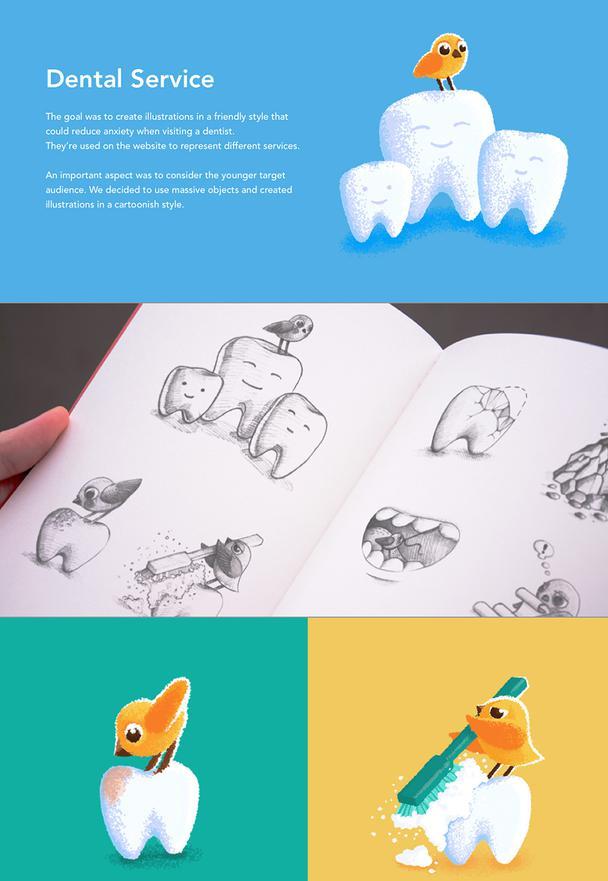Эскизы и рисованная иллюстрация