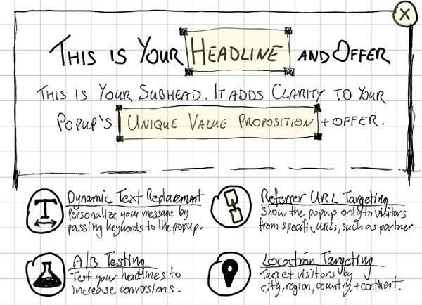 Иллюстрация к статье: Как создать идеально структурированное pop-up сообщение?