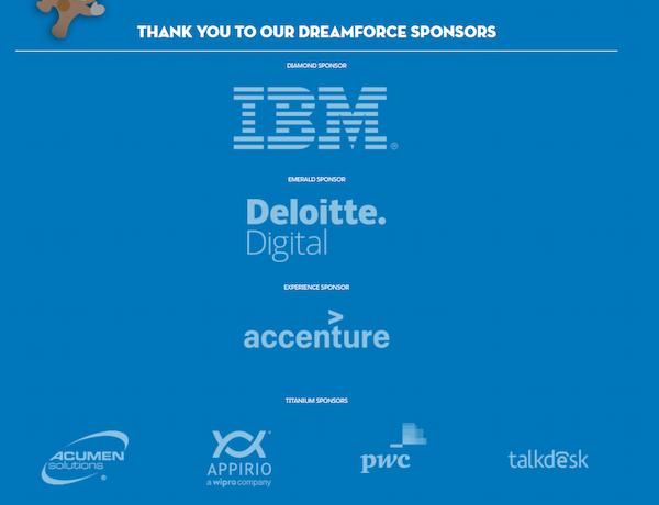 Salesforce's Dreamforce
