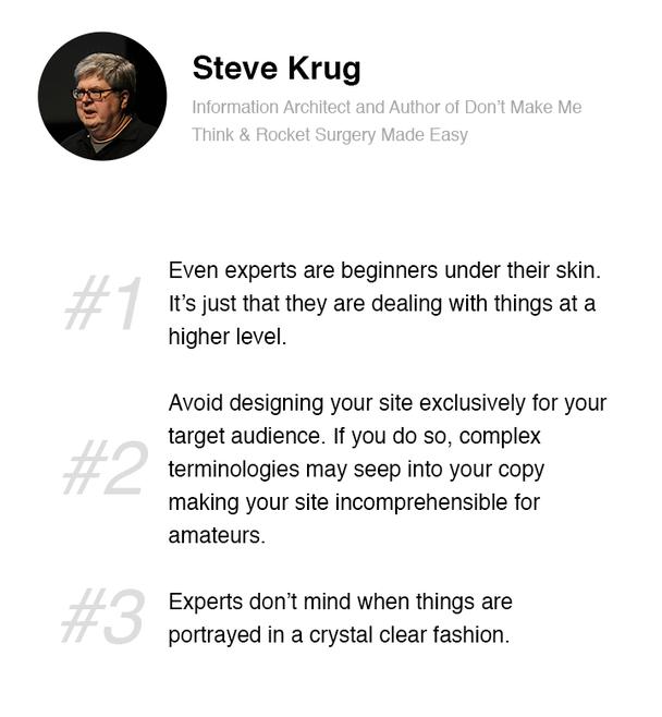 Стив Круг, специалист по информационной архитектуре, автор книг «Не заставляйте меня думать» и «Препарирование ракеты — доступным языком»