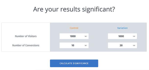 нажмите на кнопку Calculate Significance