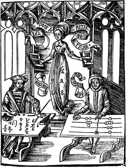 эстамп «Расчетный стол»