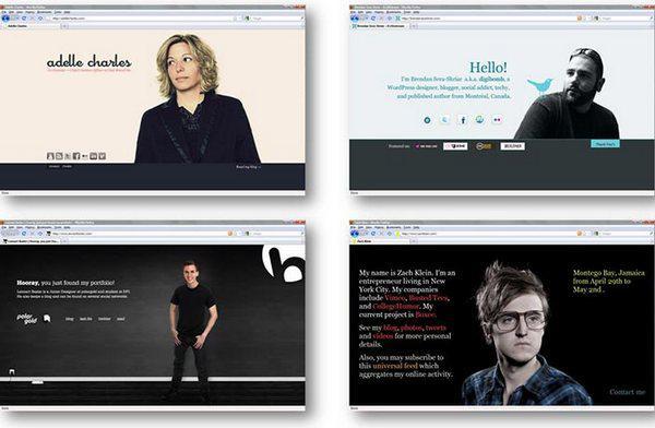 Рисунок 11: по-прежнему актуальный тренд на одностраничные сайты стал популярным в 2008 году.