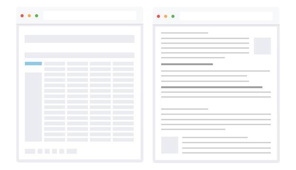 Иллюстрация к статье: Рекомендации по UX-дизайну для нагруженных контентом сайтов