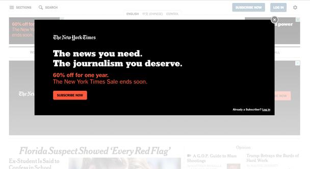 «Новости, которые вам нужны. Журналистика, которую вы заслуживаете» Скидка 60% на годовую подписку. Успейте до окончания акции.