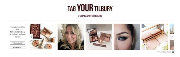 Отметь тегом #CHARLOTTETILBURY свою косметику Tilbury