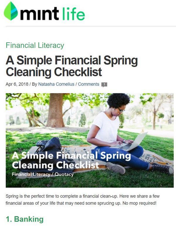Простой чек-лист по приведению финансов в порядок