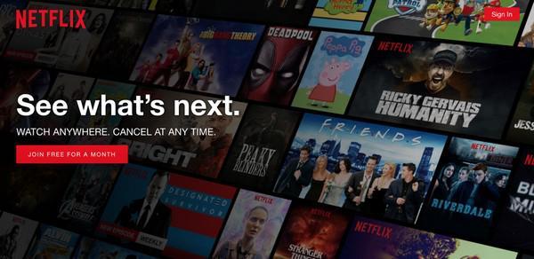 Netflix: «Наш сервис позволит вам смотреть фильмы и телешоу в любом месте»