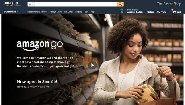 Amazon Go: «Настоящий магазин без касс»