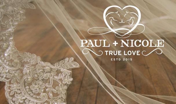 Винтажные свадебные логотипы