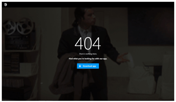 9gag: страница 404 с призывом к действию