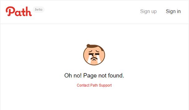 Path: предельно простая страница 404