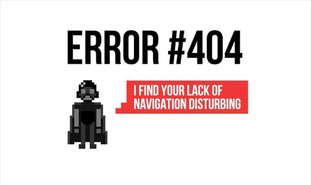 Иллюстрация к статье: 16 конвертирующих страниц 404 для заблудившихся посетителей