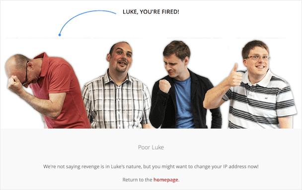 Люк, ты уволен!