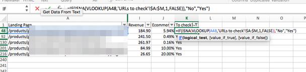 В Excel удобно сравнивать списки