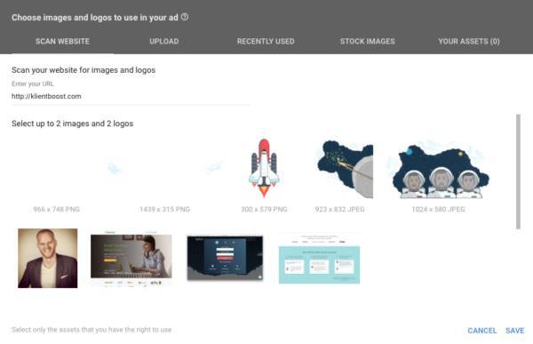 Сканирование сайта (Scan website)