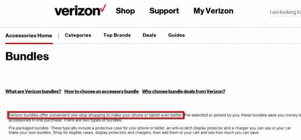 Набор от Verizon предлагается в качестве удобного решения, позволяющего за один подход улучшить работу смартфона или планшетного компьютера.