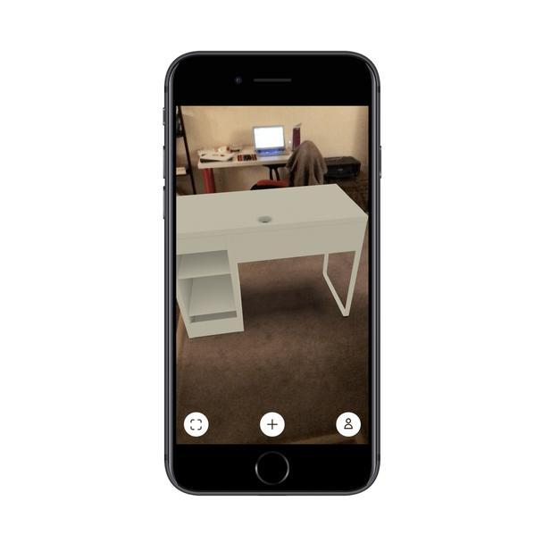 В приложении IKEA с помощью AR можно разместить любой товар в пространстве вашего дома или офиса